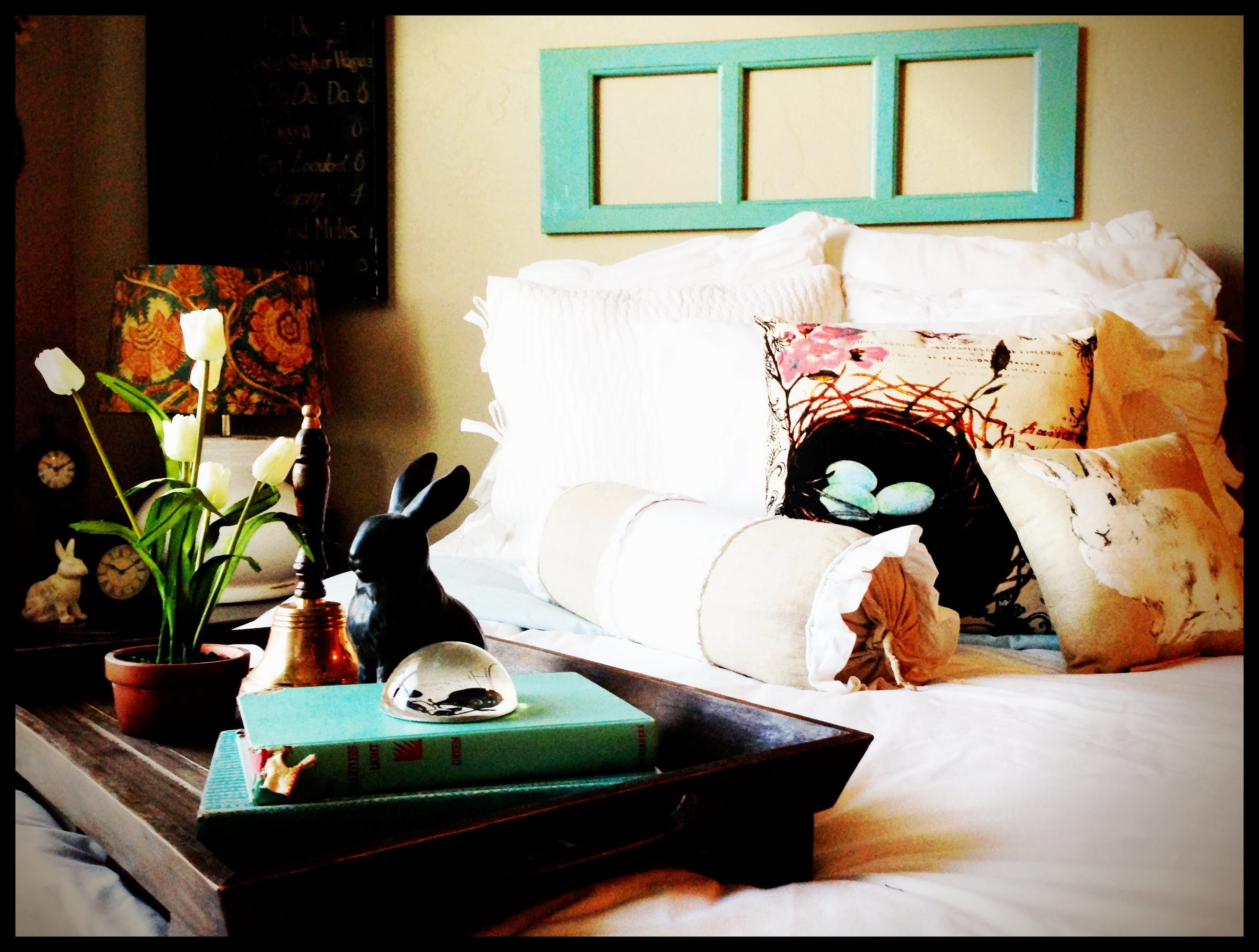 Spring Easter Decor Bedroom Tour DIY How To Farmhouse Chic