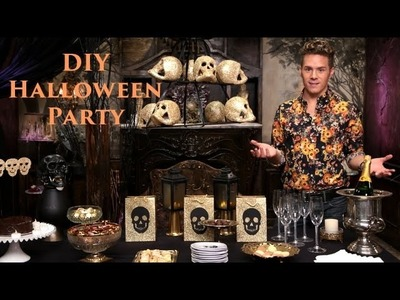 Sweets And Bubbles DIY Halloween Party