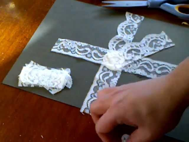 Wild Bunch - Lace Flower Tutorial - Shilpa