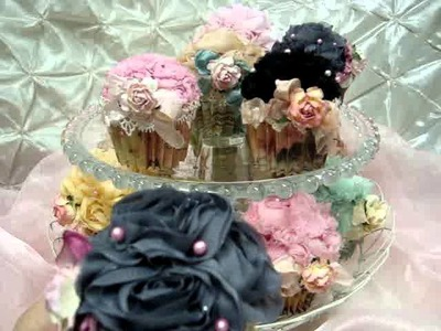 Wild Orchid Crafts DT Project - Cupcake Pincushions