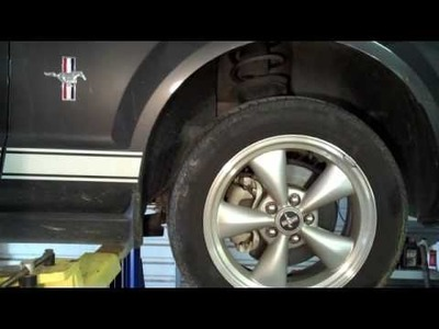 2007 Ford Mustang-How to Replace Rear Disc Brakes DIY