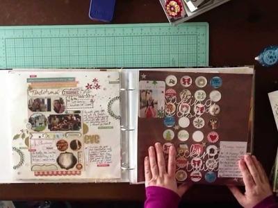 2014 Scrapbook Album Share: Organizing Scrapbook Layouts. Library Of Memories. Photo Freedom
