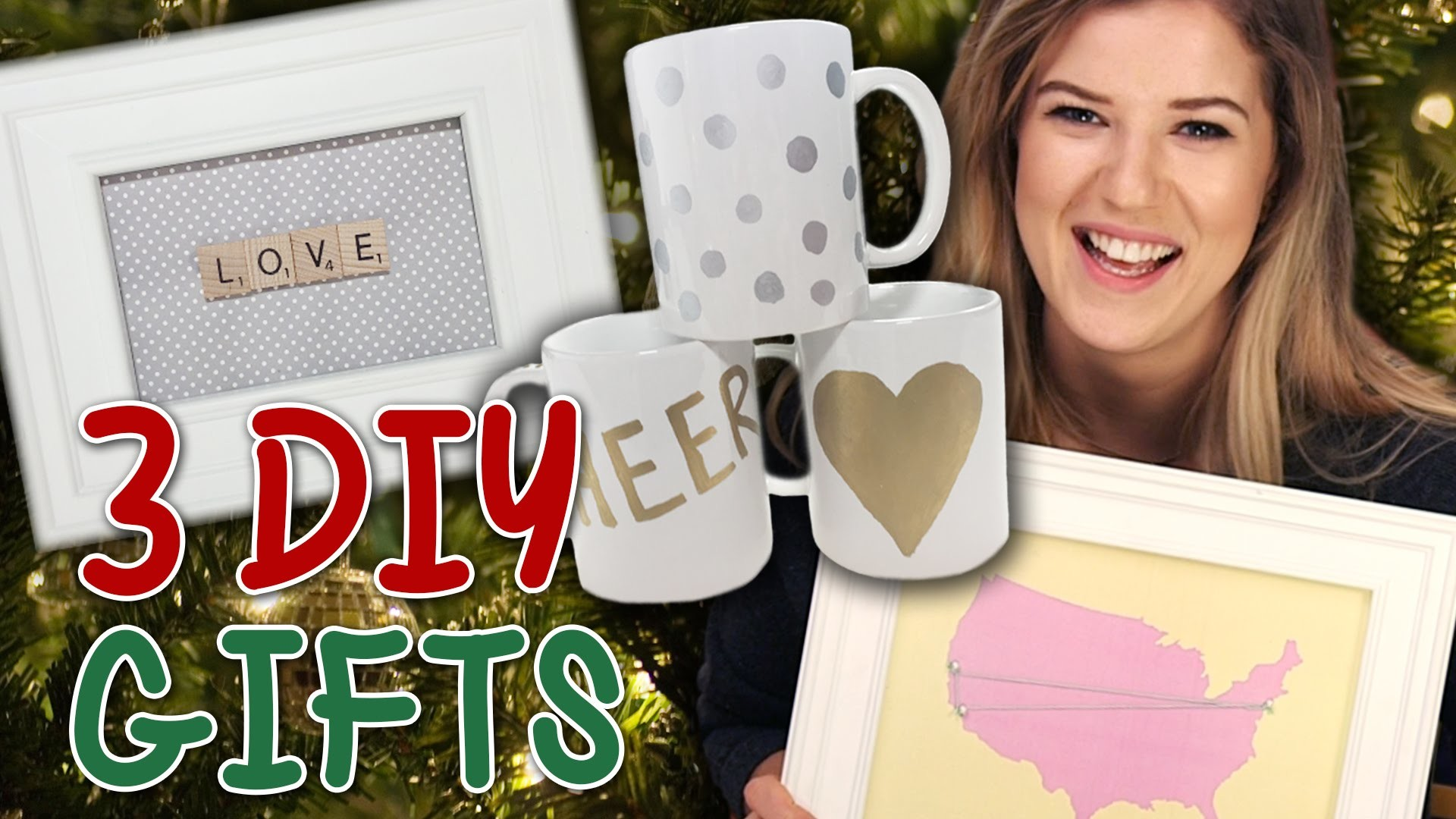 3 Cute & Easy DIY Holiday Gift Ideas for Friends & Family