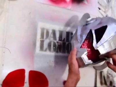 #95: Ultron Helmet DIY Part 2 - Chrome Paint & Eyes