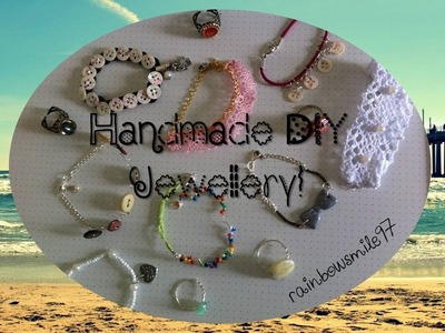 Crafts Update: Handmade jewellery (with Beads, Wire, Buttons & more!)