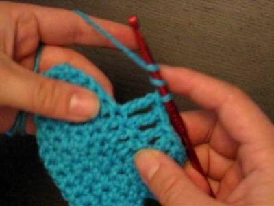 Crochet Help - Double Crochet Turns & Triple Crochet