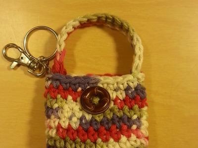 #Crochet small coin purse #TUTORIAL Idea for Crochet purse Crochet project