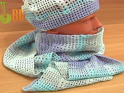 Crochet Summer Hat Pattern for Beginners Tutorial 4 Part 2 of 3 Gorro Para Adulto En Crochet