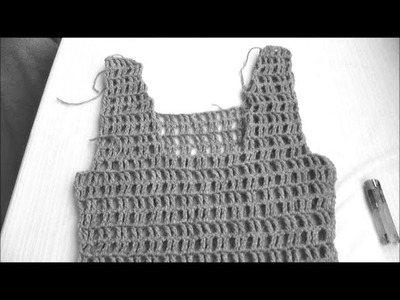 Crochet top - Part 2 of 3