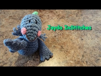 Crochet Ultimate Amigurumi Dinosaur - Pattern Tutorial