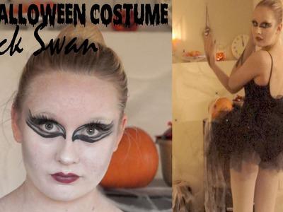 DIY Black Swan Halloween Costume