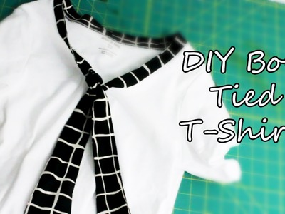 DIY: Bow Tied T-Shirts