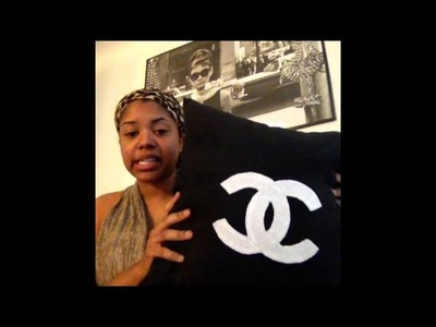 DIY: Chanel Inspired Pillow.