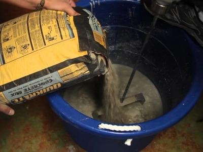 DIY Concrete Countertops - Concrete Countertop Mix