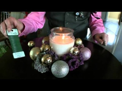 DIY Crochet Sugar Cookie Candle Wreaths - Gift 1