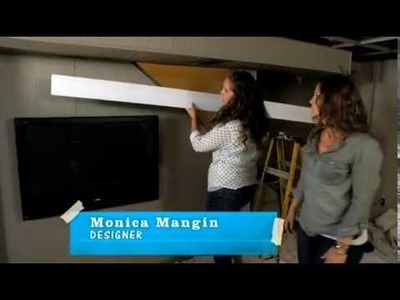 DIY Flat-Screen TV Frame