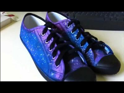 ♥ DIY ♥   Galaxy Shoes