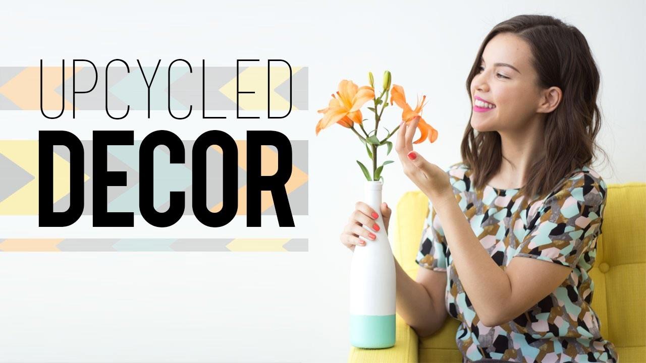 DIY Upcycled Spring Decor