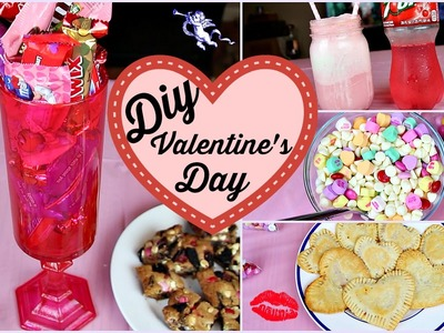 DIY Valentine's Day Candy Jar, Treats & Snacks | Tashalala