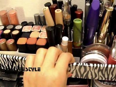 DIY Vanity & Makeup Storage Ideas