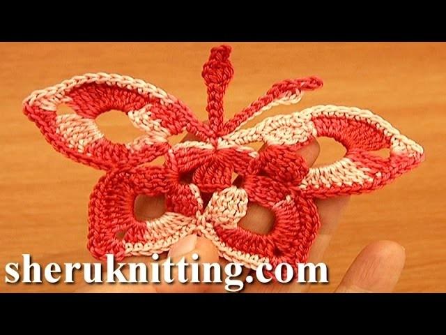 Easy Crochet Butterfly Tutorial 14 Free Crochet Butterfly Patterns