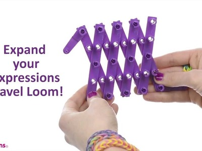 Expressions by Almar DIY - Using the Travel Loom