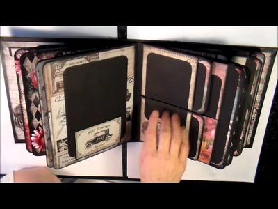 FiLoMa's Craft Project #18 - Mini Me Mini Album