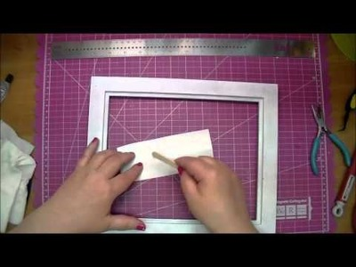 Floating Frame using Angel Craft Premium Vinyl