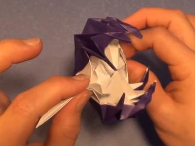 Fold an origami Space Monster (AKA Venus Flytrap) by Jeremy Shafer