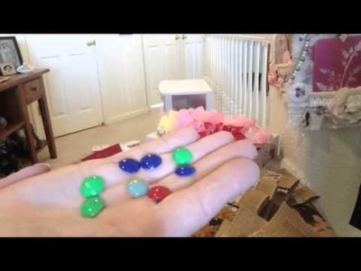 How I make my own enamel dots from pony beads