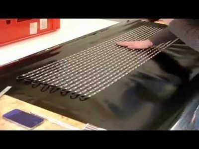 How to build a flexible LED Curtain display by LED strips T1000S SD card controler Soft Display DIY