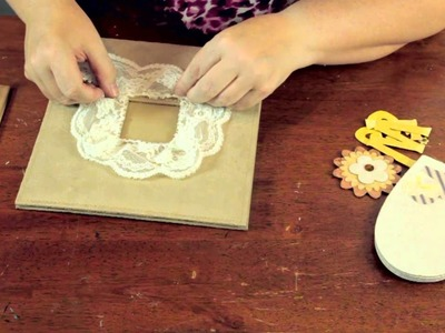 How to Decorate a Scrapbook & Chipboard Albums : Crafty Tips