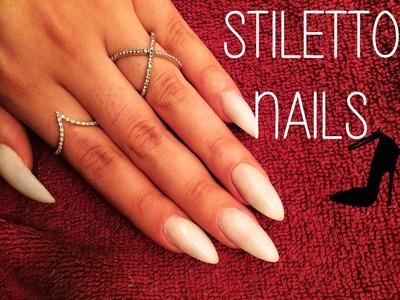 How To: DIY Stiletto Nails