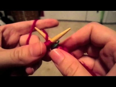 How to Knit in the Round with Circular Needle