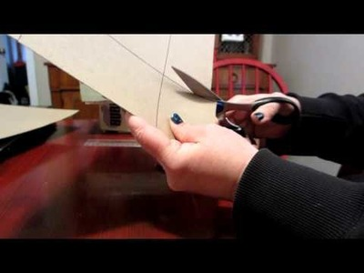 How to make a box from a record album cover
