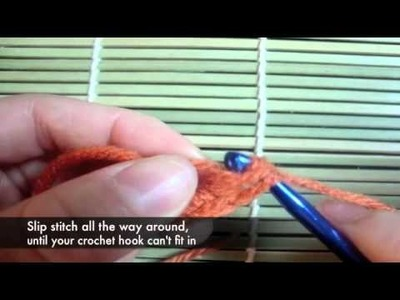 How to make a crochet button