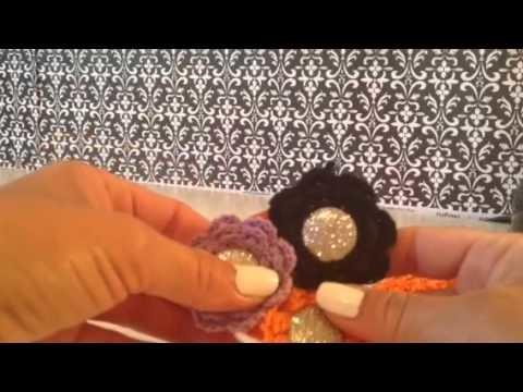 How to Make a Halloween Crochet Baby Headband