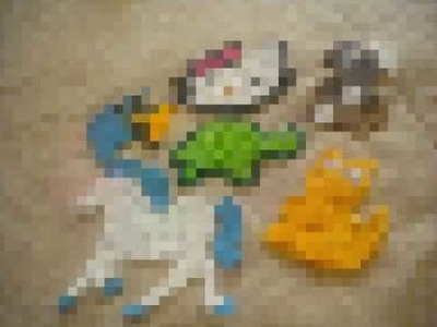 How to make a perler bead creation