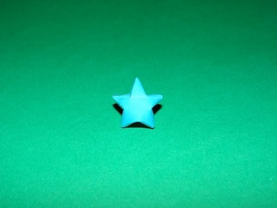 How To Make An Origami 3D Star