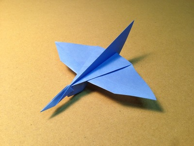 How to make an Origami Plane. Common Kingfisher