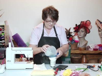 How To Make Hats - French Flowermaking Sandbag