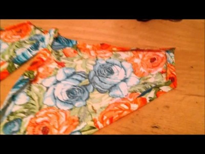 How to sew a dog bandanas (over the collar) and make pattern