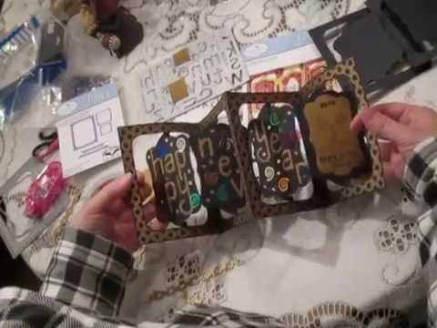 How to use Elizabeth Crafts Designs Katie Label Accordion Dies