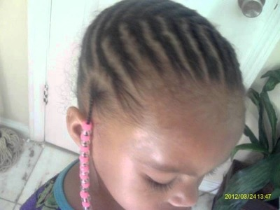 Kim's Baby Beads (braiding styles for girls)