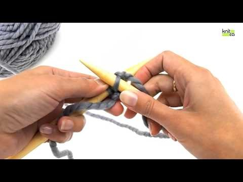 Learn to knit - Part 2 - Cast on (right and left handed way)