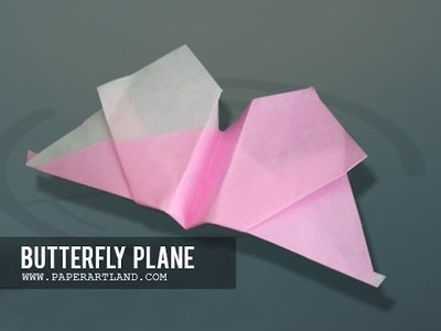 Let's make a Paper Airplane that Flies | Butterfly ( Tri Dang)