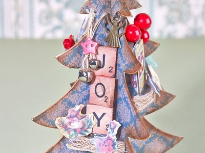Making a Papercraft Christmas Tree | In The Studio