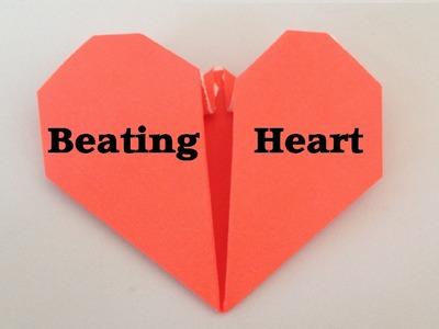 Origami BEATING HEART tutorial l JasmineStarler