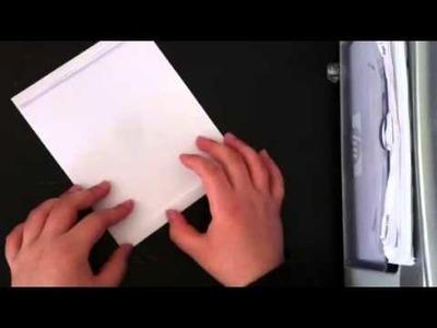 Origami Briefcase Tutorial by Zeroman03