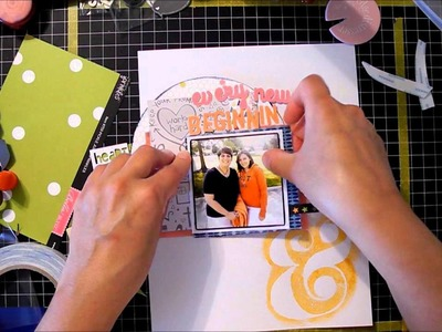 Scrapbook Process Video #5: Every new beginning